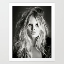 Brigitte Bardot Vampire print