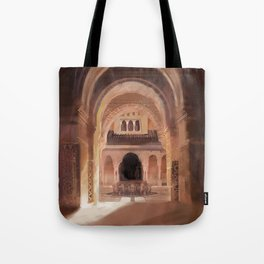 Patio de los Leones Tote Bag