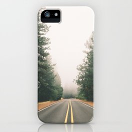 Follow the Road iPhone Case