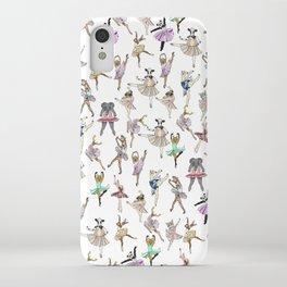 Animal Square Dance iPhone Case