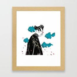 The Sensei Framed Art Print