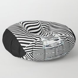Striped Water Floor Pillow
