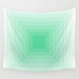 Mint Monochrome Wall Tapestry