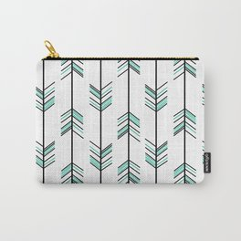arrow pattern background hipster illustration Carry-All Pouch