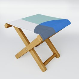 Mélange No. 1 Modern Geometric Folding Stool