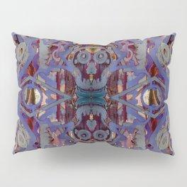 Skulls Purple Rouge Pillow Sham