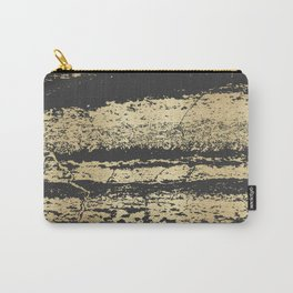 Marble Black Gold - Save Me Carry-All Pouch