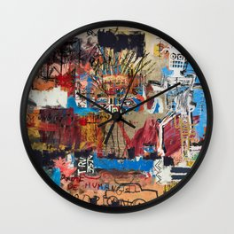 My vision became blurred Wall Clock