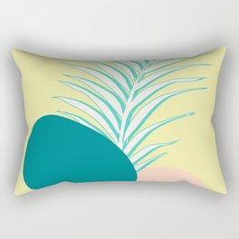 Spring Palm #society6 #spring Rectangular Pillow