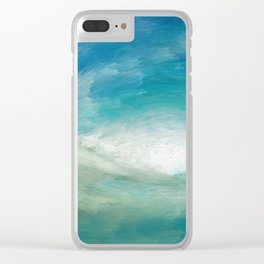 Wild Wave - Clear Sea Clear iPhone Case