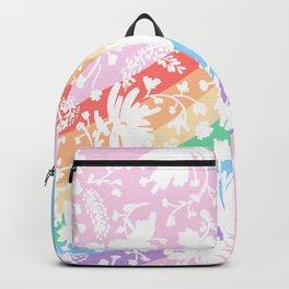 Rainbow Stripes 11 Backpack