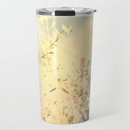 Sunny day in  nature Travel Mug