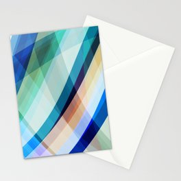 Blue Madness Stationery Cards