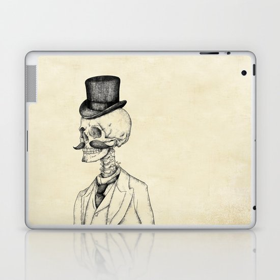 Old Gentleman  Laptop & iPad Skin