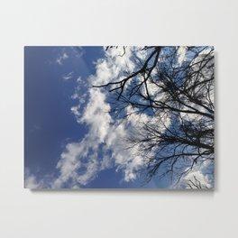 blue skys Metal Print