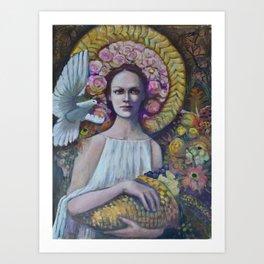 Abubdance Art Print