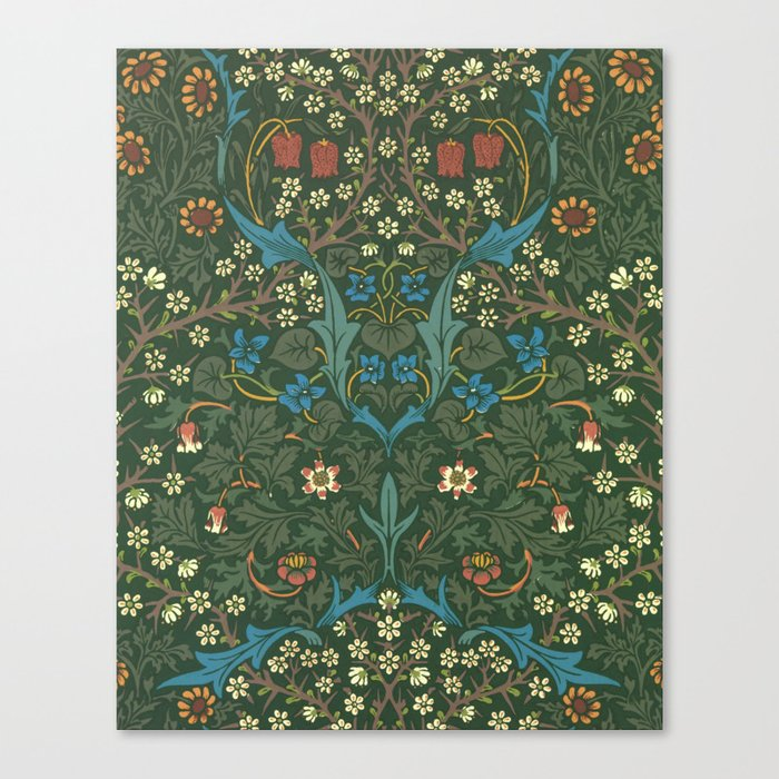 "William Morris ""Blackthorn"" 1. Leinwanddruck"
