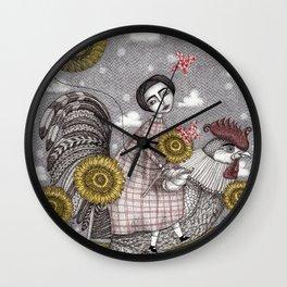 Last Days of Summer Wall Clock