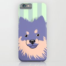 Olie the Pomeranian in Purple iPhone 6 Slim Case