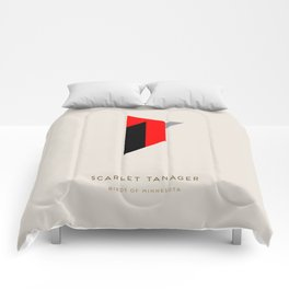 Scarlet Tanager Comforters