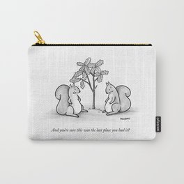 Forgetful Squirrel Carry-All Pouch