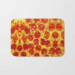Pizza Art Bath Mat