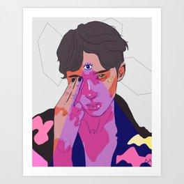 Major Tom  Art Print