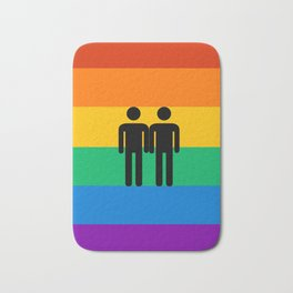 Boy Pride Bath Mat