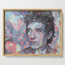 Bob Dylan - Mr. Tambourine Man Serving Tray