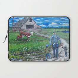 The Country Life  Laptop Sleeve