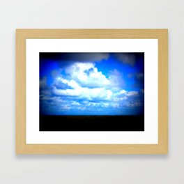 Skies Framed Art Print