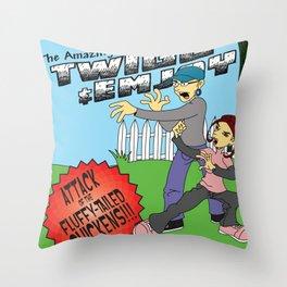 jkl Throw Pillow
