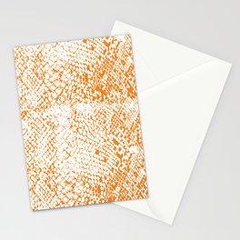Snake Skin Turmeric Stationery Cards