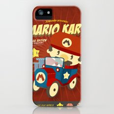 mario kart vintage Slim Case iPhone (5, 5s)