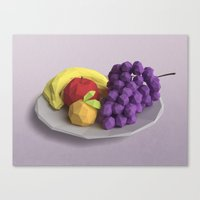 fruit Canvas Prints featuring Fruit by CharismArt