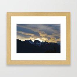 Chilkat State Park, Alaska Framed Art Print