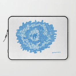March's Blue 8 | Artline Drawing Pens Sketch Laptop Sleeve