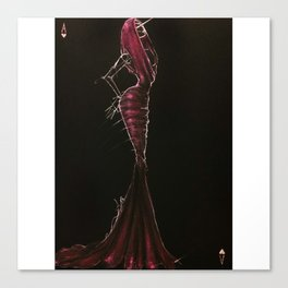 Azzedine. The king of hearts Canvas Print
