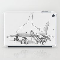 pilot iPad Cases featuring Pilot Fish by Eric Fan
