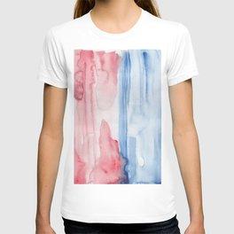 20     190907   Watercolor Abstract Painting T-shirt