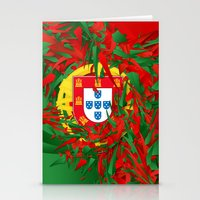 portugal Stationery Cards featuring Portugal by Danny Ivan