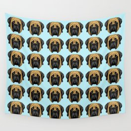 Apricot Mastiff Wall Tapestry