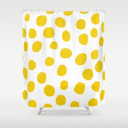 Jaune Shower Curtain