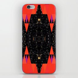 Cosmic and Latte Induced:Afronaut iPhone Skin