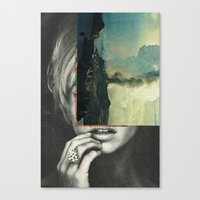 sci fi Canvas Prints featuring sci-fi nature by Hugo Barros