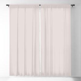 Solid Pastel Beige Color Blackout Curtain