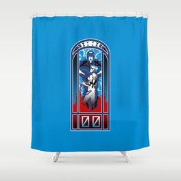 Eva Nouveau 00 Shower Curtain