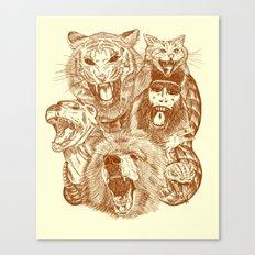 Bite Me! Canvas Print
