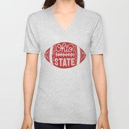 Ohio State Football Unisex V-Neck