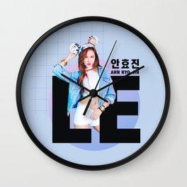 EXID LE AHN HYO-JIN  Wall Clock